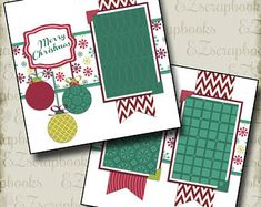 Beauty of Winter 2 Premade Scrapbook Pages EZ Layout 3644 Christmas Scrapbook Layouts, Scrapbook Page Layouts, Scrapbook Albums, Scrapbook Cards, Birthday Scrapbook Layouts, Scrapbook Templates, Scrapbooking Ideas, Christmas Tree Farm, Christmas Banners