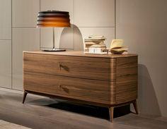 Comò in legno in stile moderno INDIGO by SELVA | design Leonardo Dainelli