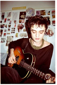 Pete Doherty - just discovered him, love his music and his style!