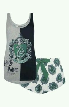 Slytherin pyjamas