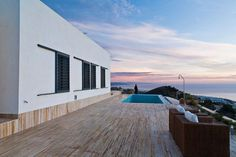 Outdoor - Poolside   AA House, Spain by MVN Architects