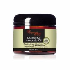 Now on Amazon.com: Coconut Oil + Avocado Oil Revitalizing Hair Mask: Beauty $8.99 Essential Oils For Hair, Hair Growth Oil, Avocado Oil, Hair Oil, Coconut Oil, Amazon, Natural, Beauty, Riding Habit