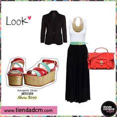 ¿Te animás a este look para ir a trabajar? Zapatos ➜ www.tiendadcm.com/venta/Amapola+Shoes/84743