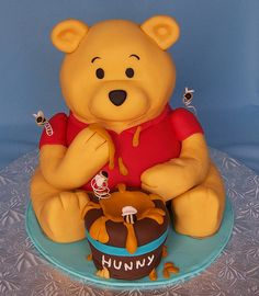 winnie the pooh cakes | 3D Winnie the Pooh Cake | Flickr - Photo Sharing!