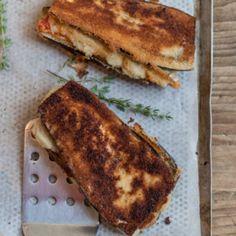 Aubergine Cordon Bleu - Tibits - Vegetarian Restaurant Bar Take Away Catering