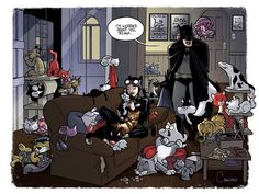 Selina may have a problem.