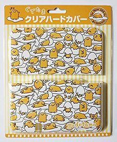 Amazon.com  Sanrio Official Kawaii new3DS XL Hard Cover -Full of Gudetama- fde1acff08b08