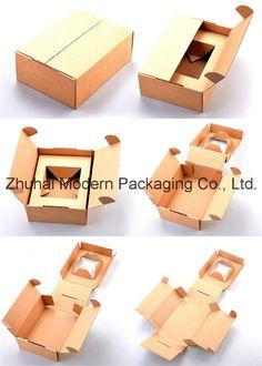 Good Quality Corrugated Shipping Box/ Folding Kraft Paper Box/Mail Box - China Corrugated Box, Corrugated Packaging Box   Made-in-China.com Corrugated Box, Food Packaging Design, Box Packaging, Corrugated Packaging, Cardboard Packaging, Paper Box Template, Perfume Diesel, Cosmetic Box, Jars