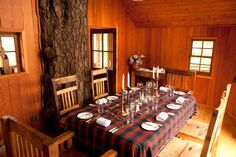Location-Shoot-Eat-Sleep Dinner in The Tree House at The Lodge on Loch Goil - one of the most beautiful venues to have dinner in Scotland Log Fires, Romantic Escapes, Bedroom With Ensuite, House Built, In The Tree, Eat Sleep, Event Venues, Fine Dining, Lodges