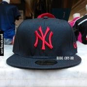 New Era Cap – NY New York Yankees – Black Red Visit our webstore to grab 640a02122b1