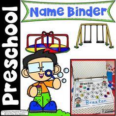 Name Practice Activities - Planning Playtime Senses Activities, Name Activities, Preschool Learning Activities, Preschool Worksheets, Hands On Activities, Teaching Resources, Preschool Binder, Preschool Names, Preschool Centers
