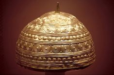 The Comerford Crown, a Bronze Age gold 'hat' from…