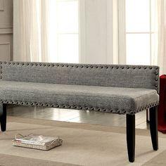 Magnifique Furniture - Herstal Gray Large Bench CM-BN6051GY-L, $195.00 (http://www.magnifiquefurniture.com/shop-furniture/living-room/ottoman-benches/herstal-gray-large-bench-cm-bn6051gy-l/)