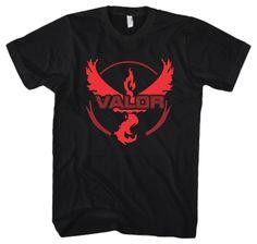 Valor Shirt Shows Power!