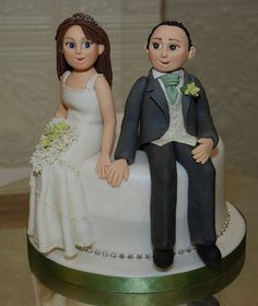 An extra surprise cake for the groom! by icing heaven, via Flickr