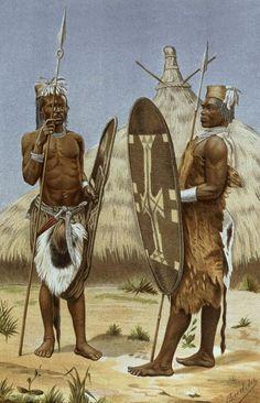 Richard Buchta - Nyam-Nyam Warriors, from The History of Mankind, Vol.III, by Prof. Friedrich Ratzel, 1898 - Zande people - Wikipedia, the free encyclopedia