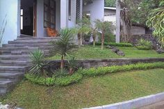 Landscaping A Sloped Yard | Sloping Garden Design Ideas Image 692 Landscaping Ideas for Front Yard