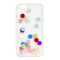 confetti bomb iphone 6 PLUS case - europop by ban.do - iphone case - ban. Iphone 6 Plus Case, Iphone Case Covers, Iphone 5c, Hygge, Silicone Iphone Cases, Cute Cases, Phone Accessories, Confetti, Gifts