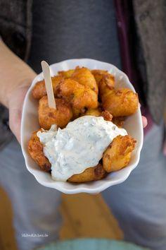 Kartoffel-Speck-Krapfen