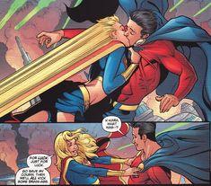 Mon-El and Supergirl