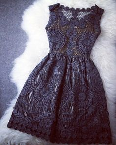 Vintage Hollow Out Gold Thread Embroidery Slim Dress only $79.99