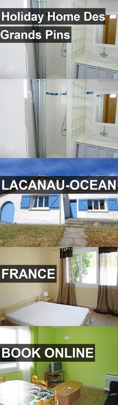 Hotel Holiday Home Des Grands Pins in Lacanau-Ocean, France. For more information, photos, reviews and best prices please follow the link. #France #Lacanau-Ocean #travel #vacation #hotel
