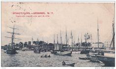 Arkhangelsk, le port de la ville White Sea, New York Skyline, Travel, Cards, Viajes, Destinations, Traveling, Trips