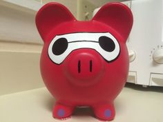 Your place to buy and sell all things handmade Baymax, Little Kitty, My Little Pony, Pintar Disney, Penny Bank, Personalized Piggy Bank, Martha Stewart Crafts, Big Hero 6, Hand Painted Ceramics