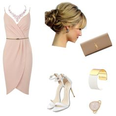 Day Paty by fabisennalage on Polyvore featuring polyvore fashion style Miss Selfridge Yves Saint Laurent Kate Spade Humble Chic Bling Jewelry