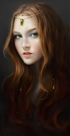 pretty fantasy girl