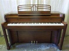 Art Deco Spinet Piano