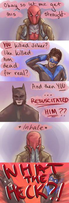 WHY BATMAN WHY???