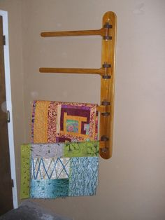 Hangers For Quilts & Image Result For How Hang Blankets On Wall ... : dritz quilting hangers - Adamdwight.com