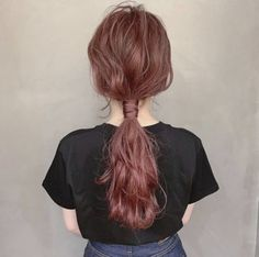 Kawaii Hairstyles, Easy Hairstyles, Love Hair, My Hair, Hair Arrange, Fall Hair Colors, Hair Setting, Hair Reference, Aesthetic Hair