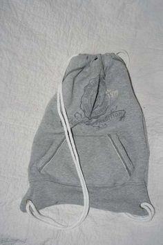 Sweatshirt recycled Bags athletic bag