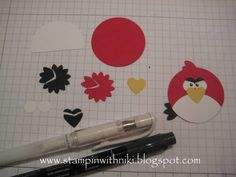 Angry Birds Tutorial by n toll - Cards and Paper Crafts at Splitcoaststampers