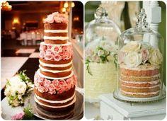 Naked Cake 3 - Uniquely Yours Wedding Invitation
