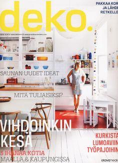 deko cover Interiors Magazine, Cover Design, Sweet Home, Furnitures, Magazines, Addiction, Inspiration, Spaces, Education