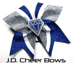 Hey, I found this really awesome Etsy listing at https://www.etsy.com/listing/223584220/3d-diamond-cheer-bow-many-colors-3d