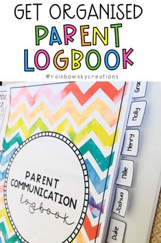 Parent Communication Guide (Parent Meeting notes and logbook) Parent Teacher Interviews, Parent Teacher Meeting, Primary School Teacher, Parent Teacher Conferences, Classroom Organisation, Teacher Organization, Teacher Hacks, Organization Ideas, Learning Resources
