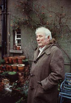 Seamus Heaney- Irish Poet and Nobel Prize winner.