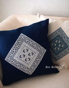 The Beauty of Japanese Embroidery - Embroidery Patterns Cushion Embroidery, Sashiko Embroidery, Japanese Embroidery, Hand Embroidery Patterns, Embroidery Art, Cross Stitch Embroidery, Embroidery Designs, Embroidery Needles, Cross Stitch Designs