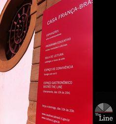 The Line - Bistrô Casa França Brasil Rua Visconde de Itaboraí, 78 - Casa França Brasil, Centro, Rio de Janeiro - RJ - (21) 2233-3571 / (21) 7832-4313