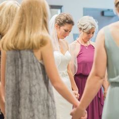 © Marni Wishart Photography: This moment when our bride, her mom, mom-in-law to be, and all the women who love her most circled up to pray before that big walk down the aisle ... there wasn't a dry eye in the room (most especially mine) -- it is an amazing thing to be witness to the very core of someone's beliefs and to feel the love that surrounds them. It really is very humbling and it holds true for every race, religion and creed --as the saying goes. The Sun shines on us all.