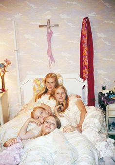 The hidden meanings behind those boxy school uniforms and 70s prom dresses in The Virgin Suicides: http://www.dazeddigital.com/fashion/article/24730/1/deconstructing-the-fashion-of-the-virgin-suicides