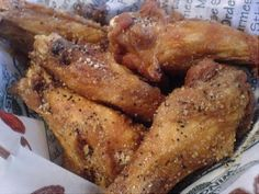 Lemon Pepper Wings - why have i never attempted these before..they're only MY FAVORITE.