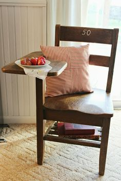 Happy At Home: A Vintage School Chair