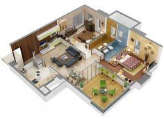 Floor Plans - 2 BHK