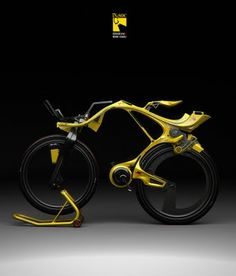 In the future, not even pro-cyclists no how to ride their fancy bikes. Where TF is the seat?