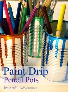 Paint Drip Pencil Po